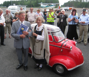 Leevi, Anni ja Messerschmitt